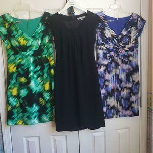 Set of 3 Anne Klein Dresses